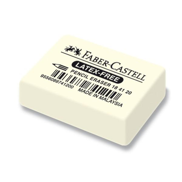 """Faber-Castell """"Latex-Free"""" Radierer (Eraser)"""