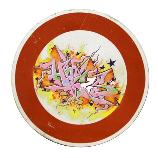 """""""Hocus77 - Stop Hocus (Original)"""" 60x60cm"""