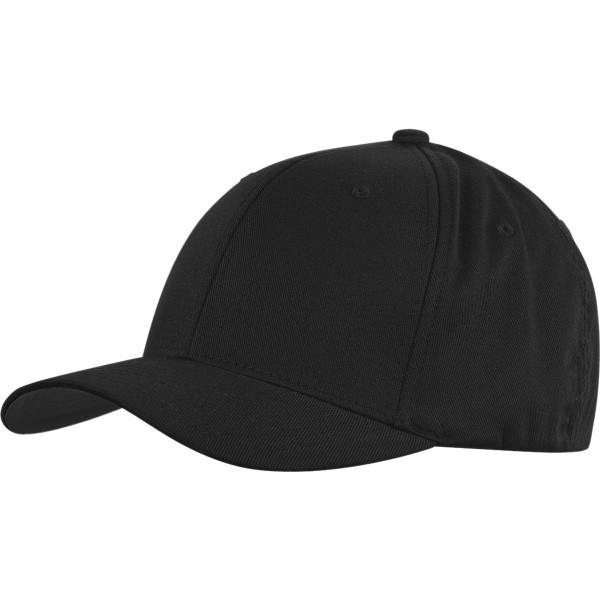 """Flexfit """"Wolly Combed 6277 - Black/Black"""""""