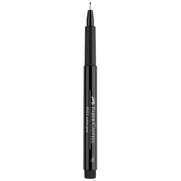 """Faber-Castell """"Pitt Artist Pen F (0,5mm)"""" Tuschestift - Black"""