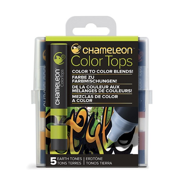 "Chameleon ""5 Color Tops - Earth Tones"""