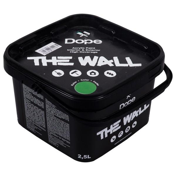 "Dope Acryl Premium Wandfarbe ""The Wall 2,5L"" Green"