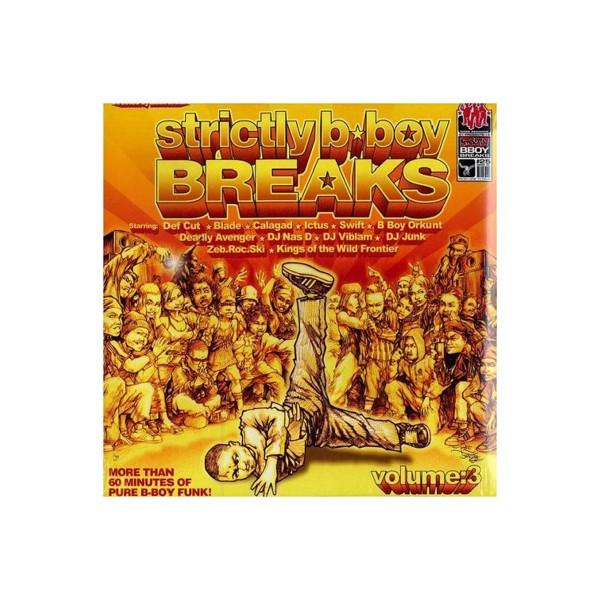 """2LP """"Strictly B-Boy Breaks Vol. 3"""""""