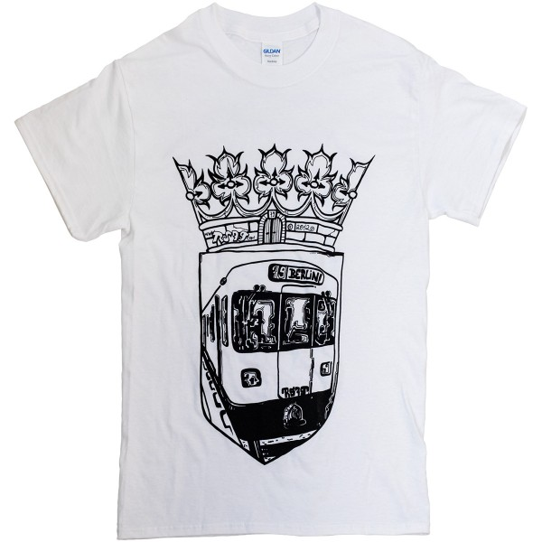 "Tik T-Shirt ""Subway Wappen"" White"