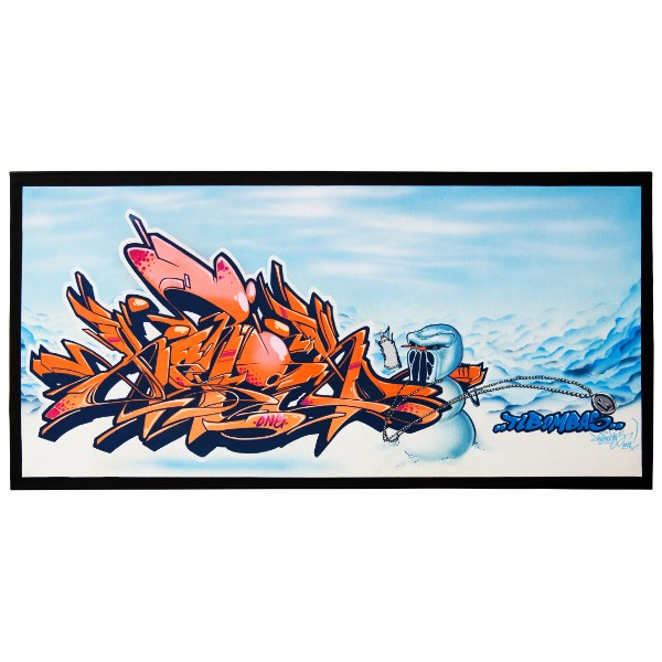 """Kerock - Winter Writing (Original)"" 50x100cm"