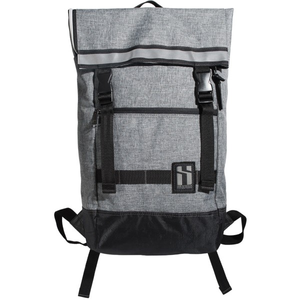 """Mr. Serious """"To-Go Backpack"""" Heather Grey"""
