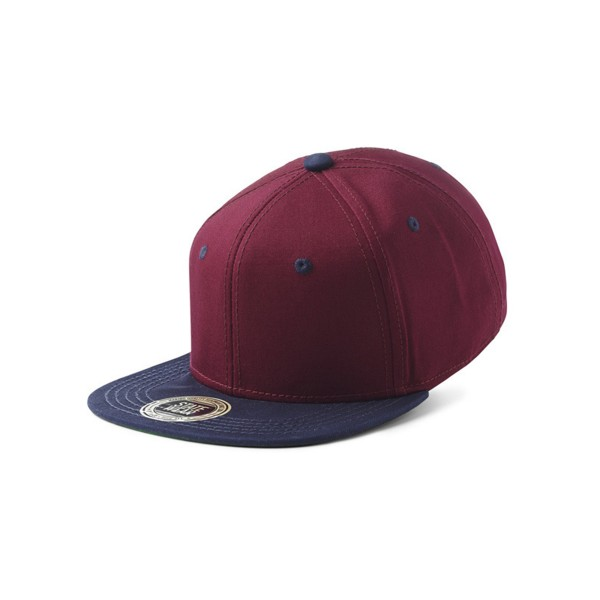 "State of Wow Snapback ""Two Tones"" Burgundy/Navy"