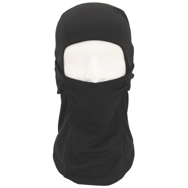 "Maske ""Balaclava Mission"" 1-Loch (dünn) - Black"