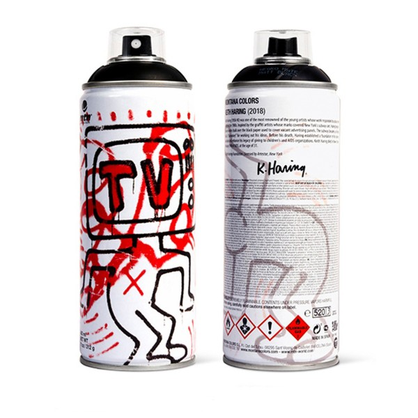 """MTN """"Keith Haring Special Edition - Black"""" (400ml)"""