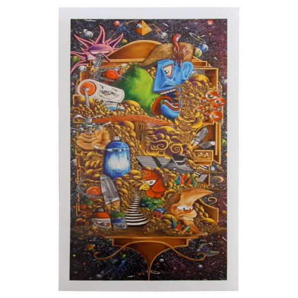 """""""Der Schmierfink - Galaxy Quest (Kunstdruck)"""" 45x75cm"""