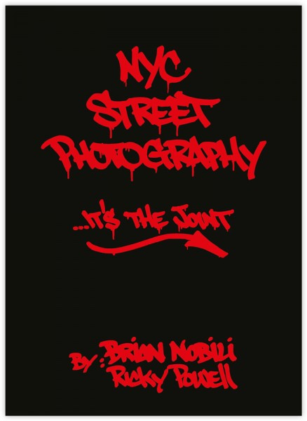 """""""NYC Street Photography"""" - Buch"""