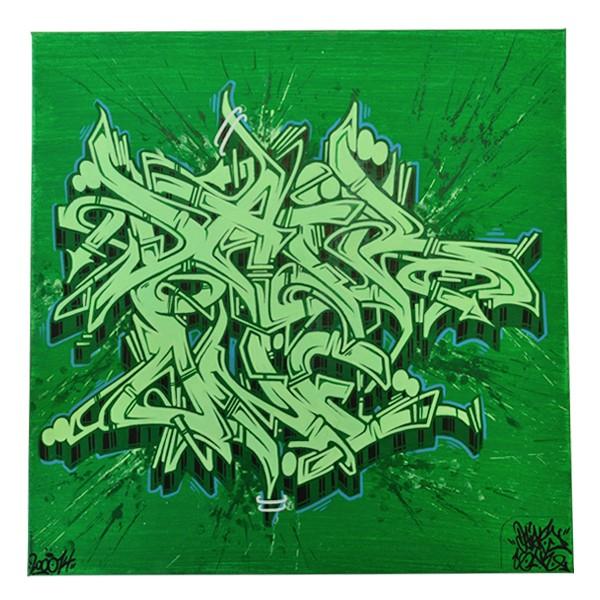 """""""Daiar - Green Yonder (Original)"""" 50x50cm"""
