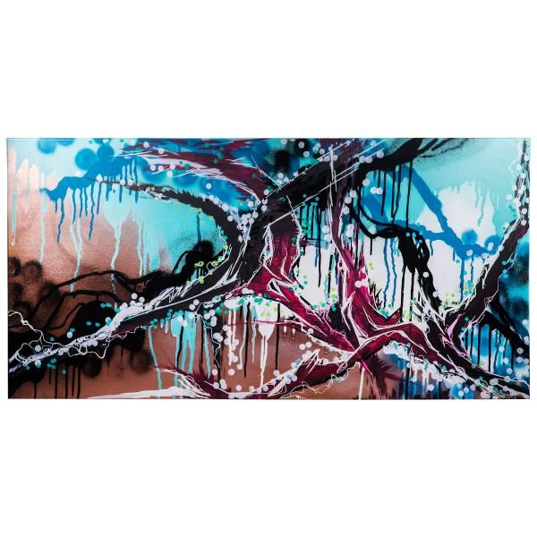 """Meise - Acrylicks (Original)"" 50x100cm"