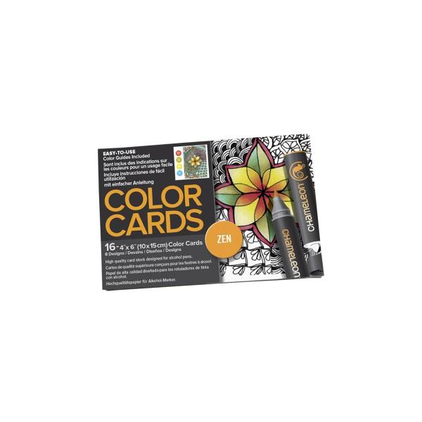 """Chameleon """"Color Cards - Zen"""" 16 Stk."""