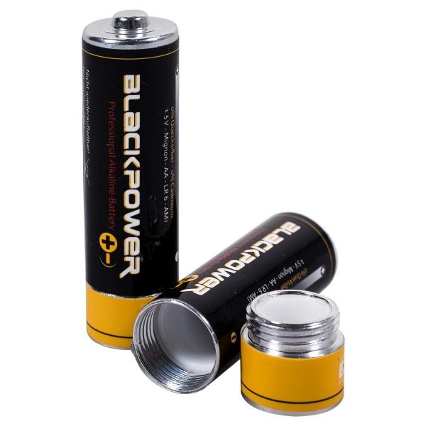 "Plastic Fantastic ""Batteriesafe Blackpower - Small"" - Geheimversteck"