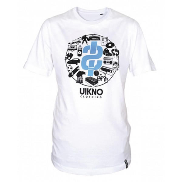 "U!KNO T-Shirt ""Back in the Days"" White"