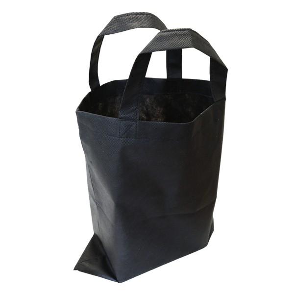 """Tasche """"Non Woven PP - kurze Henkel"""" Black"""