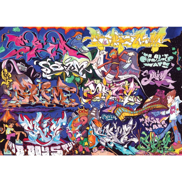 "Poster ""Style Wars by Skim & Shek"" - DIN A1"