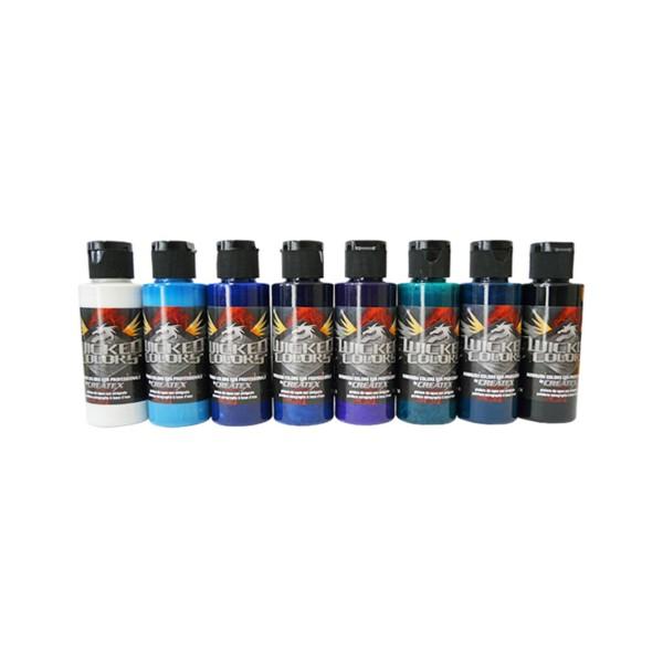 "Createx ""Wicked Colors - Kent Lind Cool Set"" (8x60ml)"