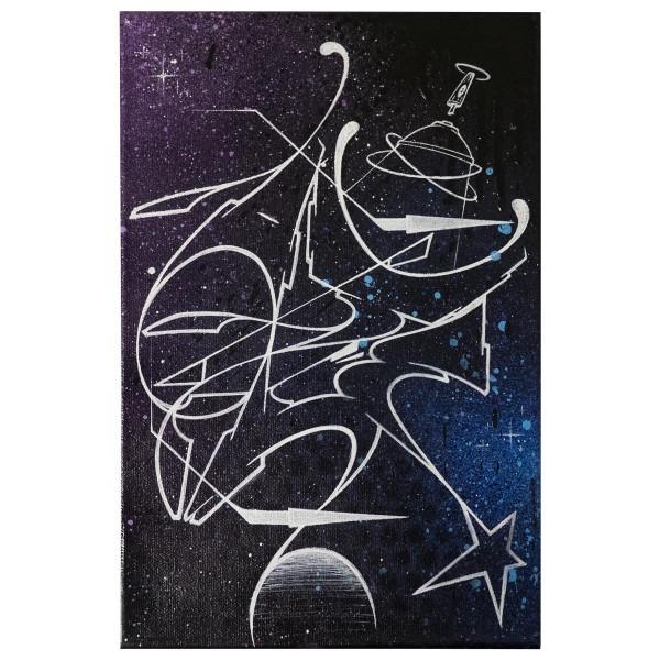 """Akte One - Universe (Original)"" 20x30cm"
