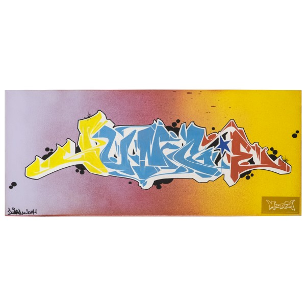 """Mister - Junce Color Explosion (Original)"""" 30x70cm"""