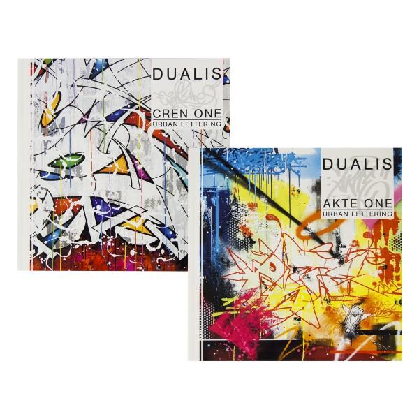 "Buch Dualis ""Akte & Cren"" - Urban Lettering"