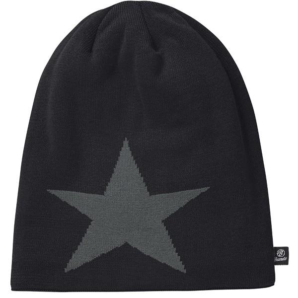 """Brandit """"Star Beanie"""" Black"""