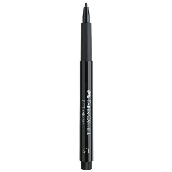 """Faber-Castell """"Pitt Artist Pen 1.5 (1,5mm)"""" Tuschestift - Black"""