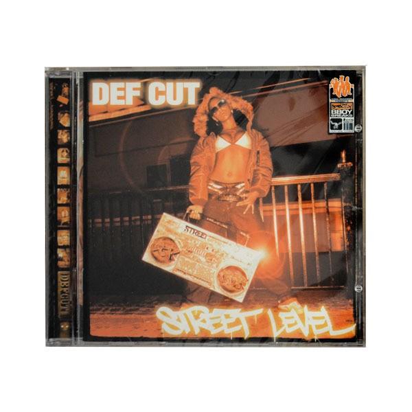 """CD """"Def Cut - Street Level Album"""""""