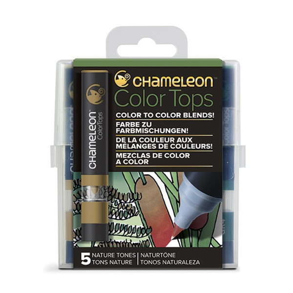 "Chameleon ""5 Color Tops - Nature Tones"""
