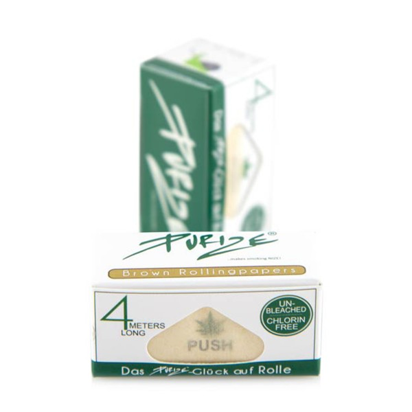 """Purize Papers """"Brown Rolls Unbleached"""" - 4 Meter"""