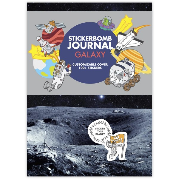 "Sticker Bomb ""Journal"" Galaxy"