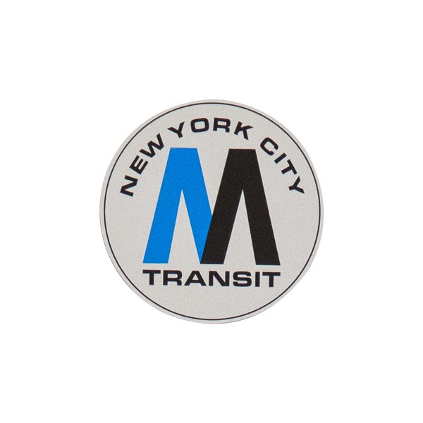 "OTR Magnet ""NYC MTA Logo"" Small (9x9cm)"