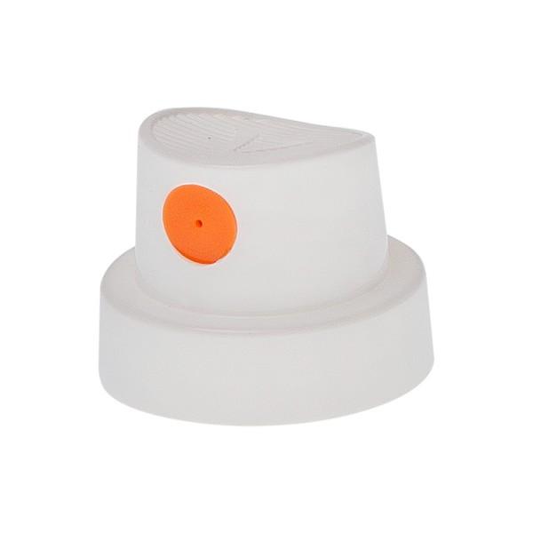 """""""Silent Fat Cap"""" White/Orange"""
