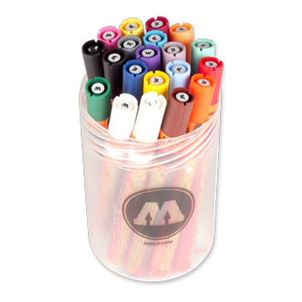 "Molotow ""127HS"" One4all 20er Marker Set (2mm) - Main"