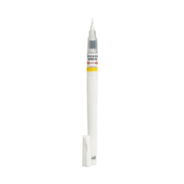 """ZIG """"Cartoonist Brush Pen White"""" - White"""