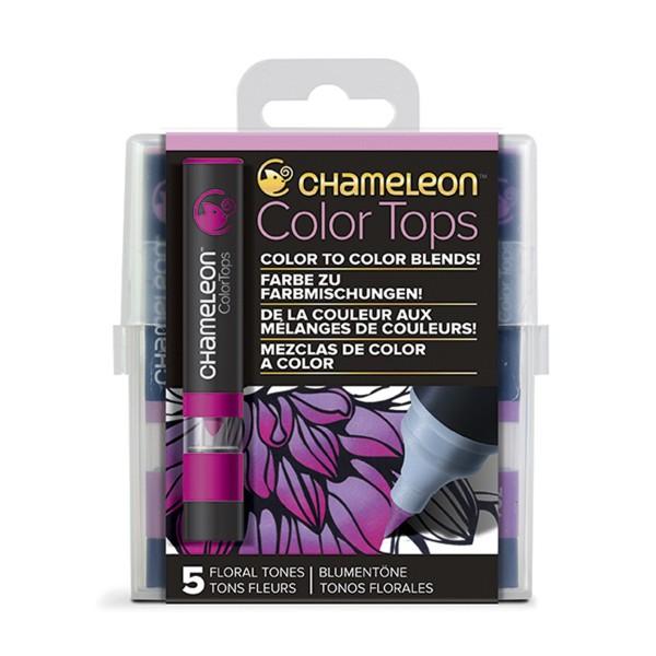 """Chameleon """"5 Color Tops - Floral Tones"""""""