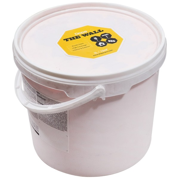 "Dope Acryl Premium Wandfarbe ""The Wall 5L"" Yellow"