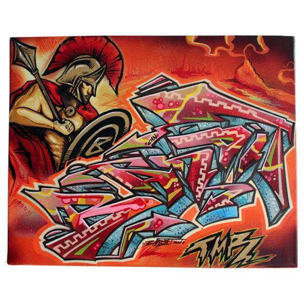"""Bandit 77 - The 77. Mythologie (Original)"" 40x50cm"